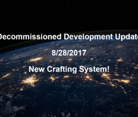 Development log 8/28: New crafting system!
