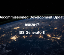Decommissioned Dev Log 9/8/2017 – The one where I procedurally generate all the things